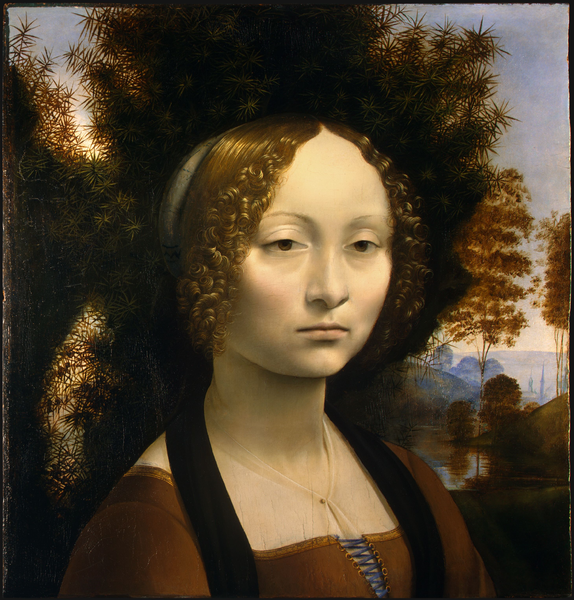 Portrait de Ginevra de Benci, Léonard de Vinci