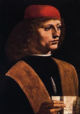 Portrait de musicien, Léonard de Vinci