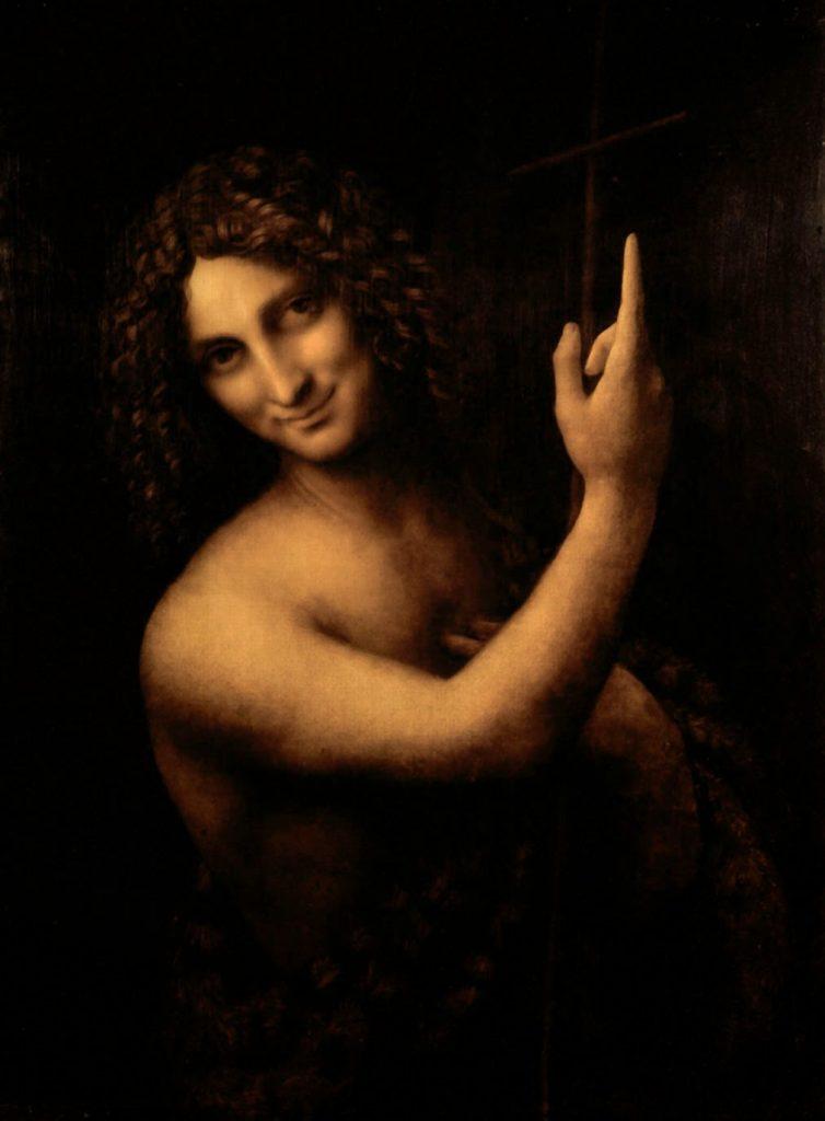 Saint jean Baptiste, Léonard de Vinci