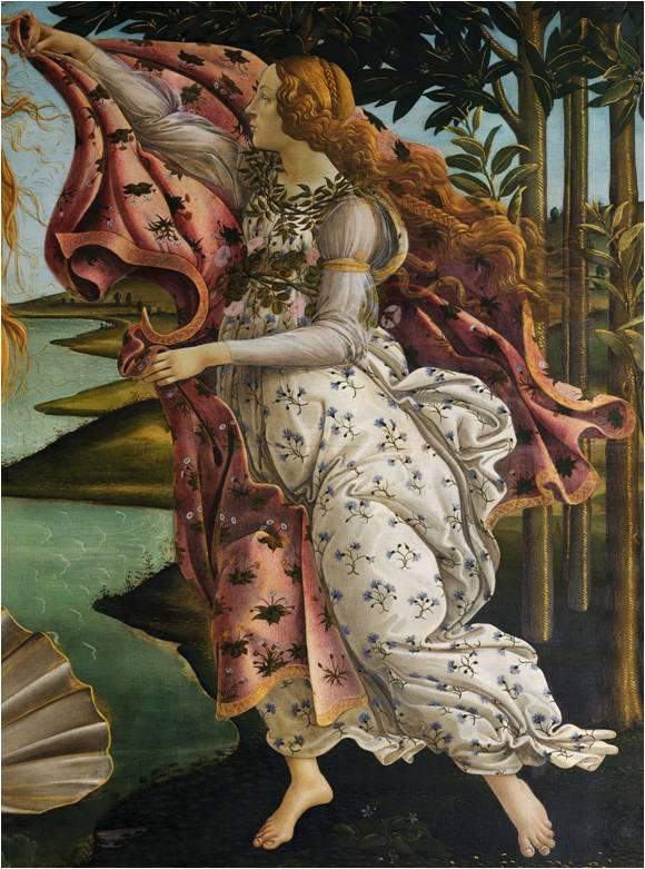 Heure du printemps Botticelli