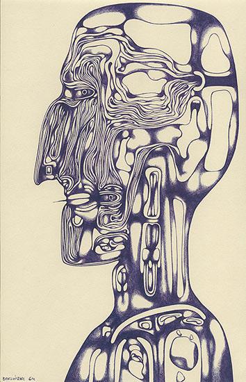 Zdzislaw Beksinski dessin