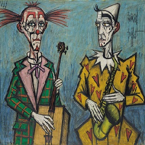 bernard buffet clowns tristes