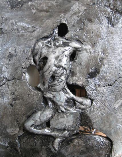 krisskolb bas relief