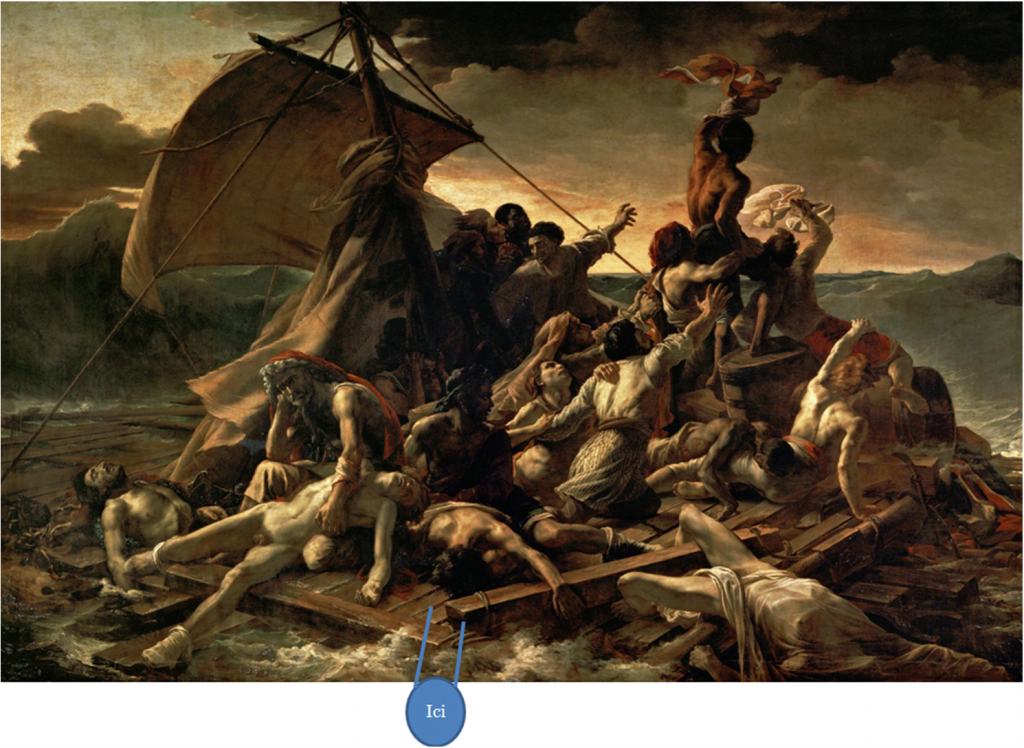 radeau de la méduse géricault regarder peinture