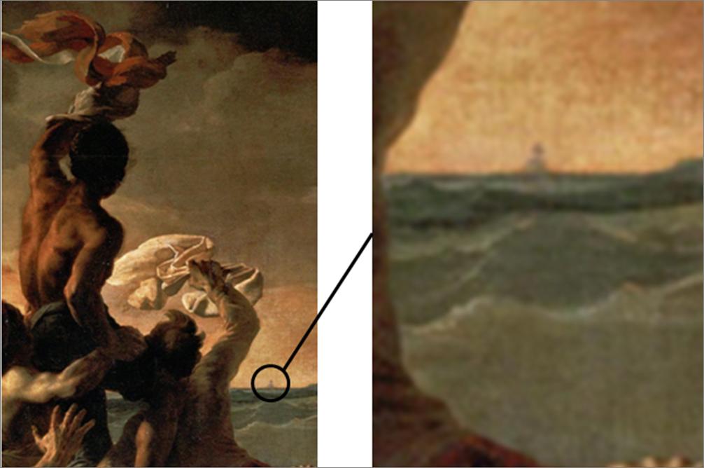 radeau de la méduse géricault argus