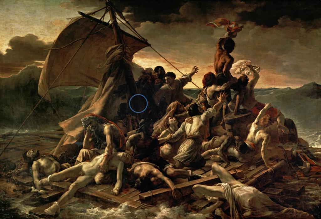 radeau de la méduse géricault