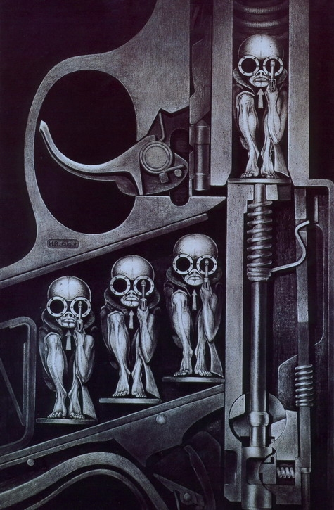 hr giger birth machine