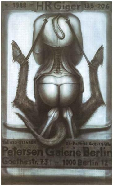 giger fiancée de satan