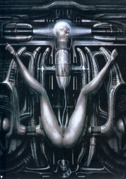 giger peinture deathbirth machine III