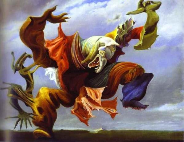 L'ange du foyer Max Ernst