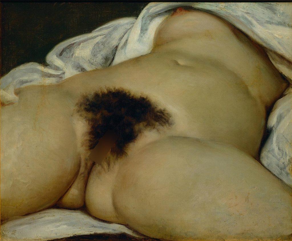 L'Origine du Monde, Gustave Courbet