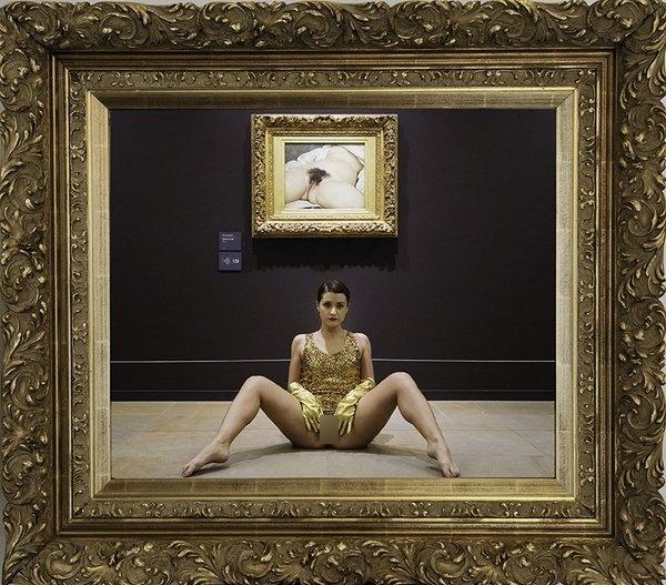 Miroir de l'Origine Deborah De Robertis