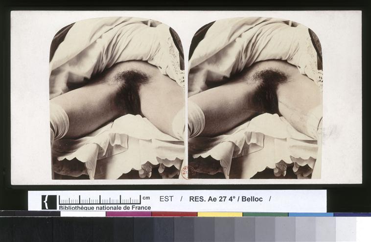 Photo d'Auguste Belloc ayant pu inspiré l'Origine du Monde