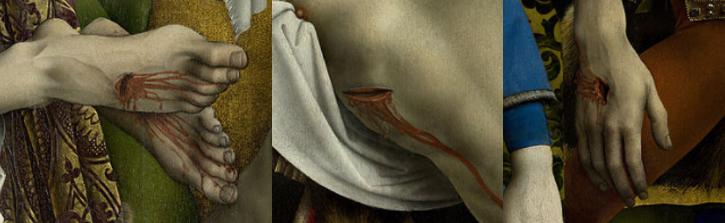Descente de Croix Rogier van der Weyden Christ