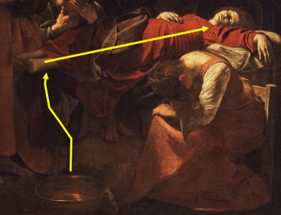 La Mort de la Vierge bassine