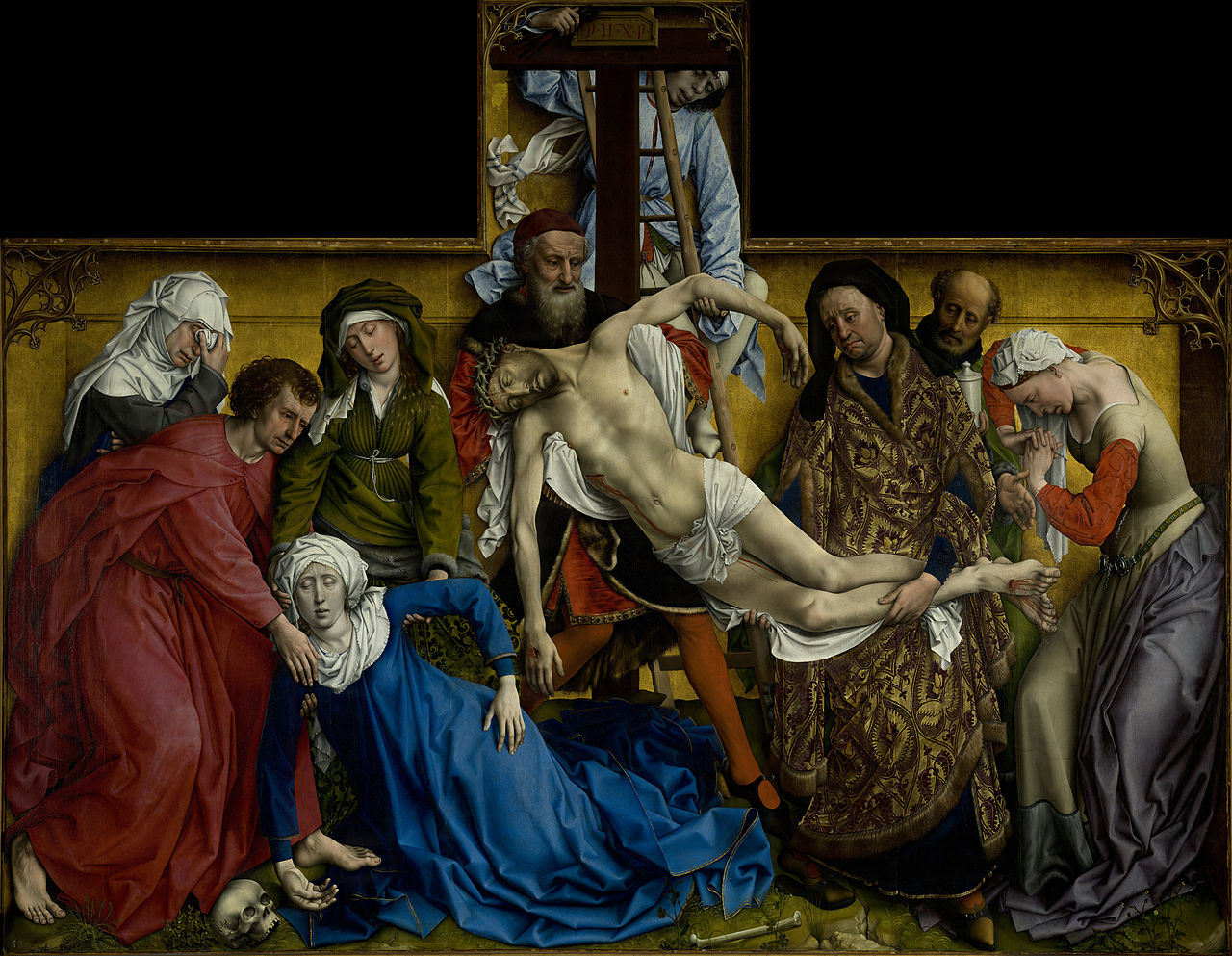 La descente de Croix de Rogier van der Weyden