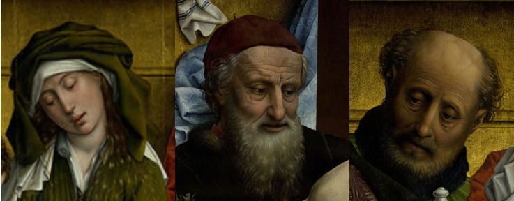 Descente de Croix Rogier van der Weyden douleur