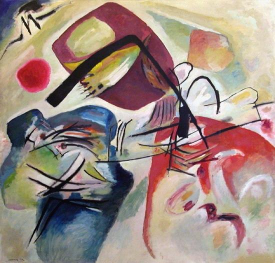 Avec l'Arc noir Kandinsky