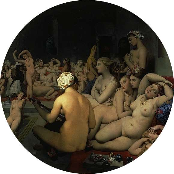 Le bain turc, Ingres
