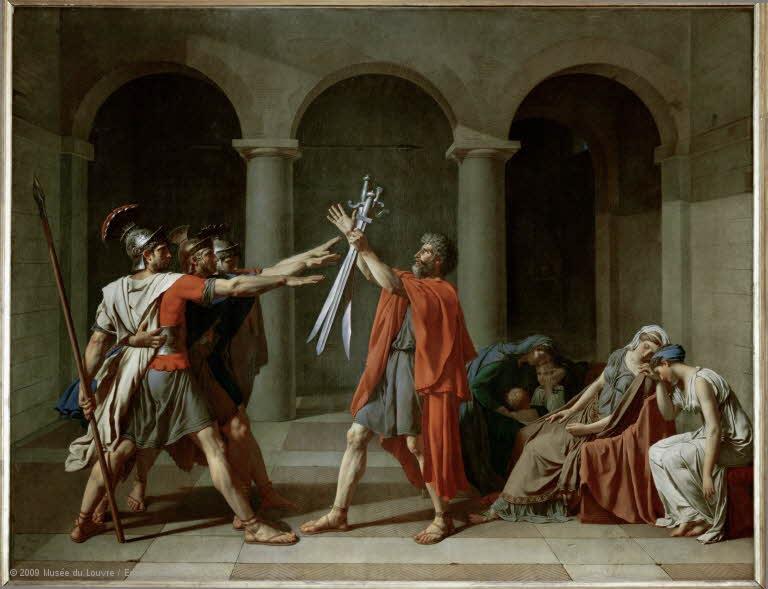 Le serment des Horaces, David