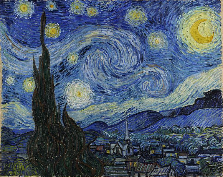 """Résultat de recherche d'images pour """"nuit étoilée van gogh"""""""